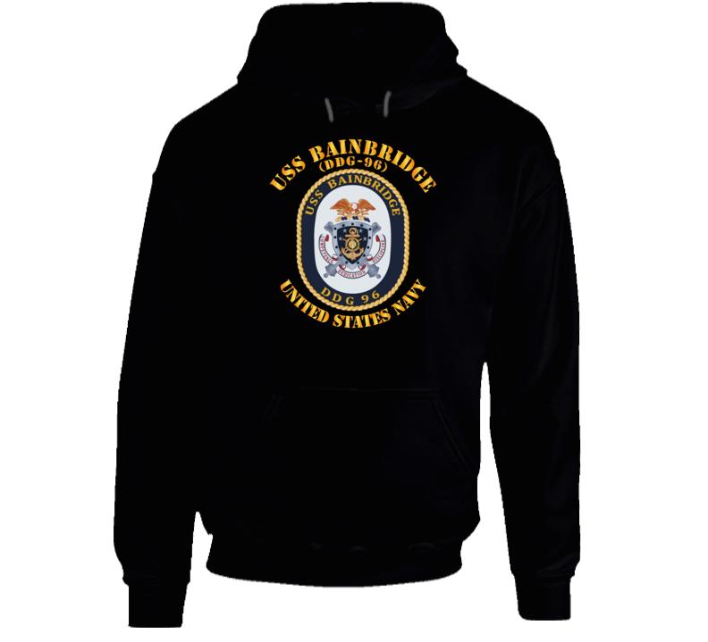 Navy - Uss Bainbridge (ddg-96) Hoodie