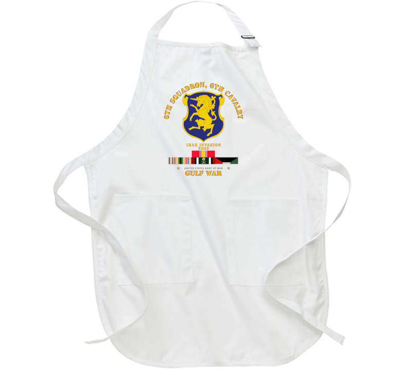 Army - 6th Sqdrn - 6th Cav Gulf War W Svc Apron