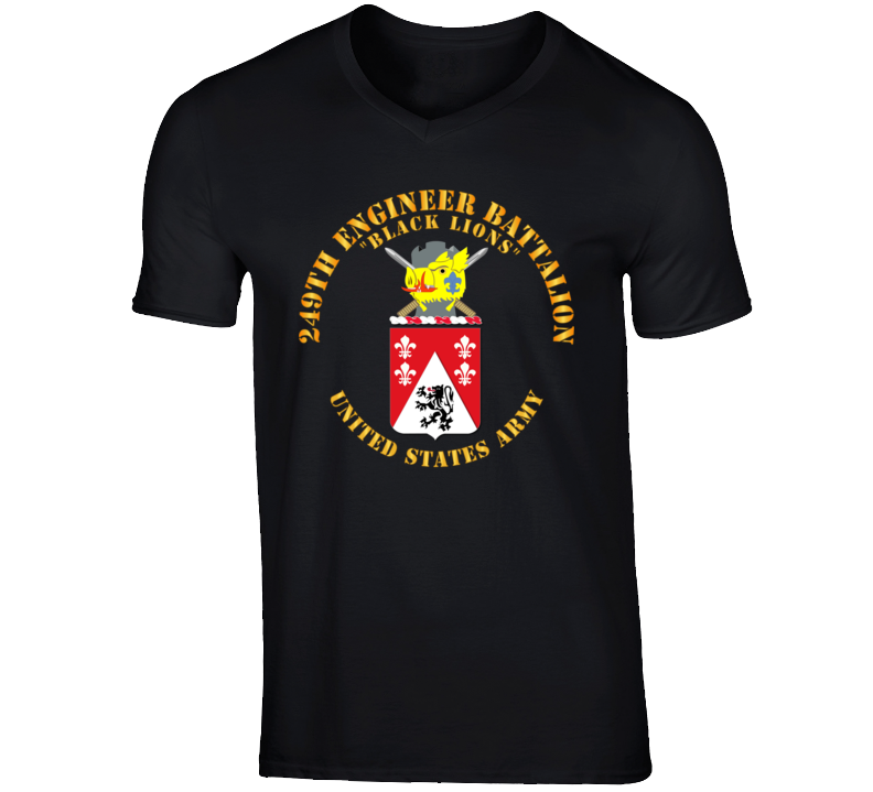 Army - Coa - 249th Engineer Battalion T Shirt