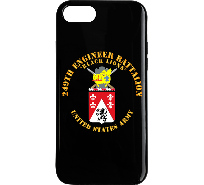 Army - Coa - 249th Engineer Battalion Phone Case