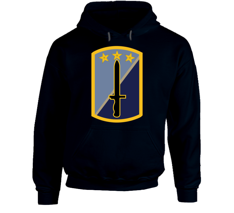 Army - 170th Infantry Bde Ssi Wo Txt Hoodie