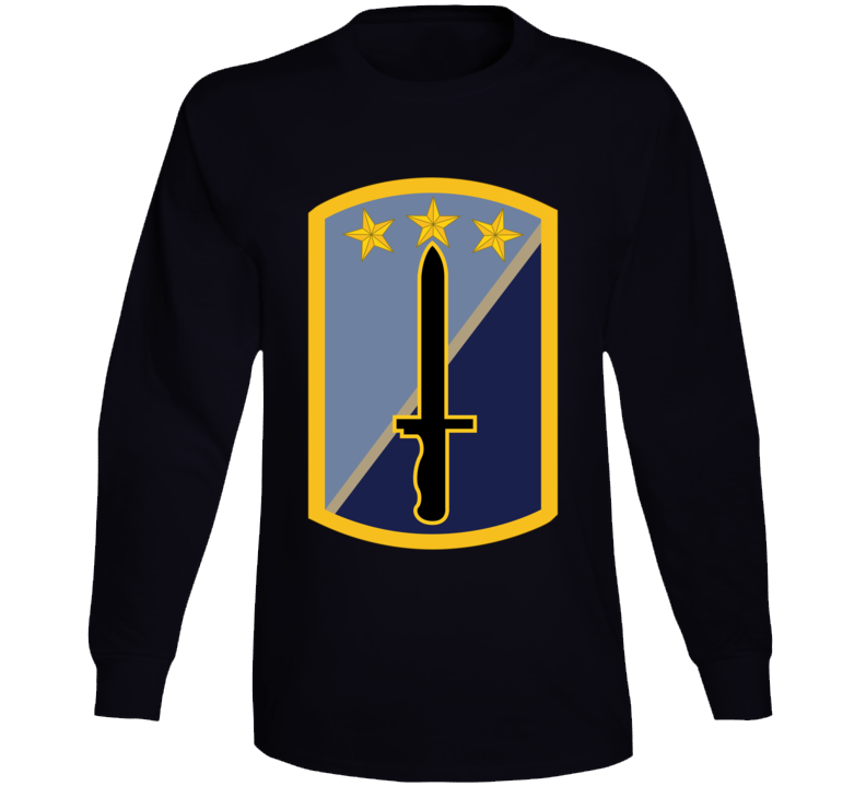 Army - 170th Infantry Bde Ssi Wo Txt Long Sleeve