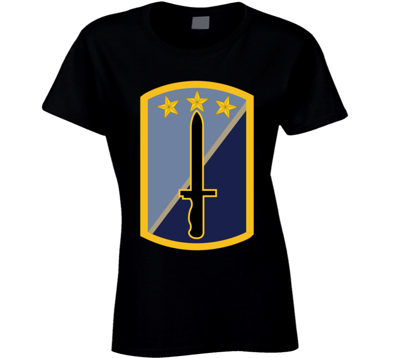 Army - 170th Infantry Bde Ssi Wo Txt T Shirt