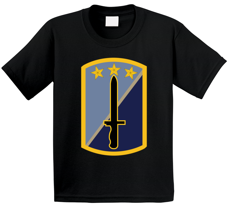 Army - 170th Infantry Bde Ssi Wo Txt T Shirt