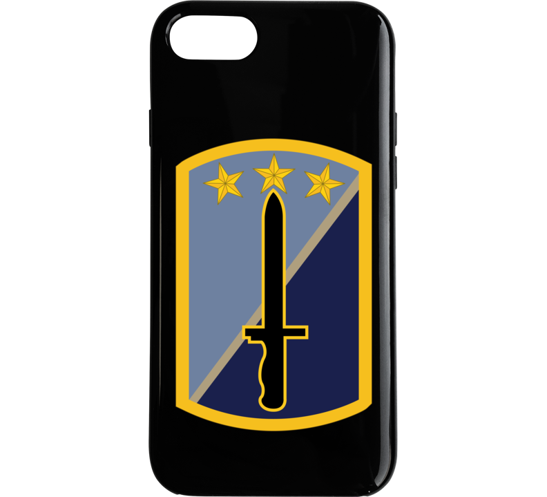 Army - 170th Infantry Bde Ssi Wo Txt Phone Case
