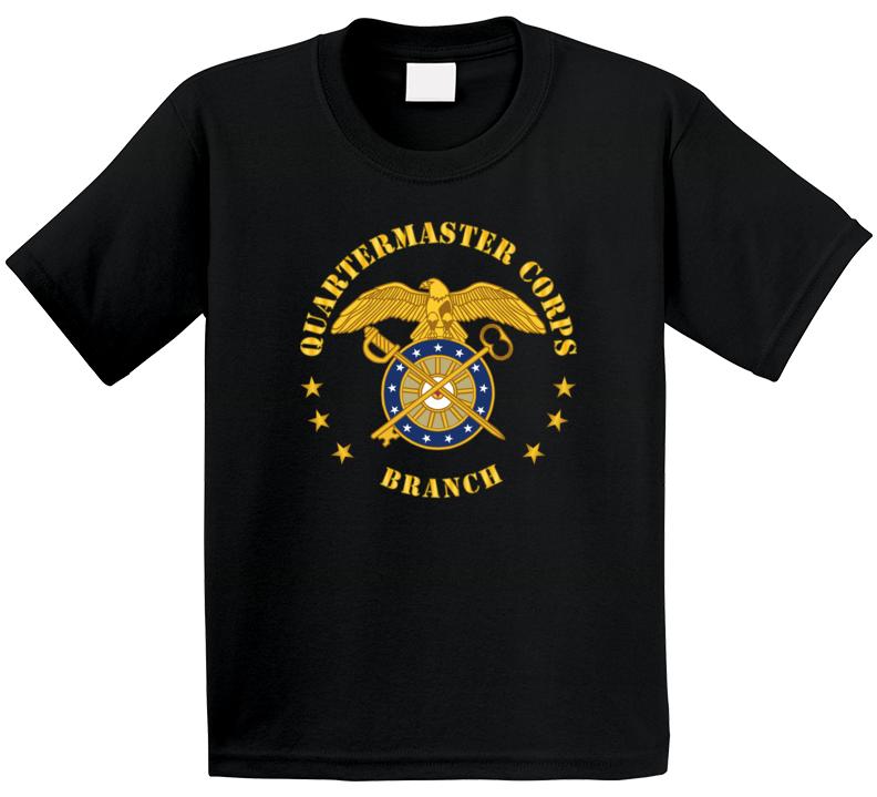 Army - Quartermaster Corps Branch Kids T Shirt