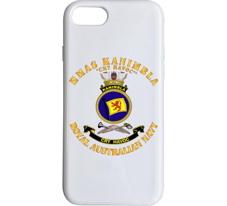 Australia - Navy - Hmas Kanimbla Phone Case