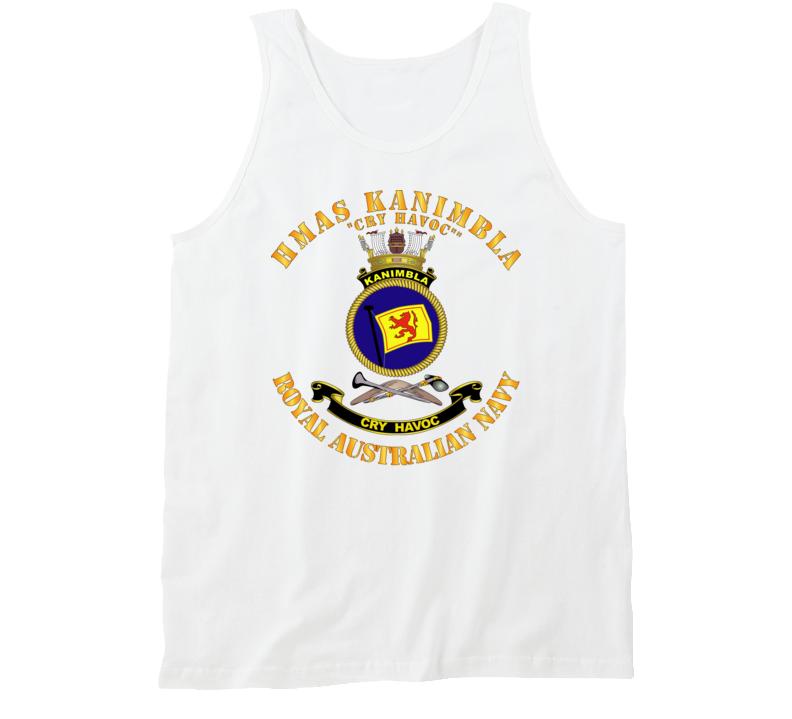 Australia - Navy - Hmas Kanimbla Tanktop