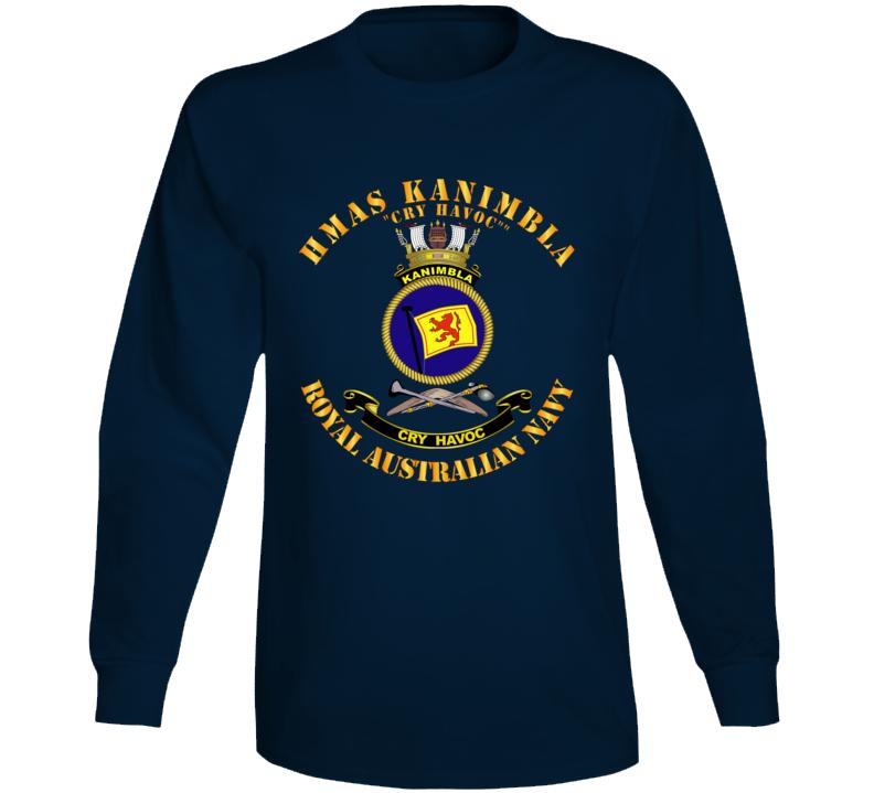 Australia - Navy - Hmas Kanimbla Long Sleeve