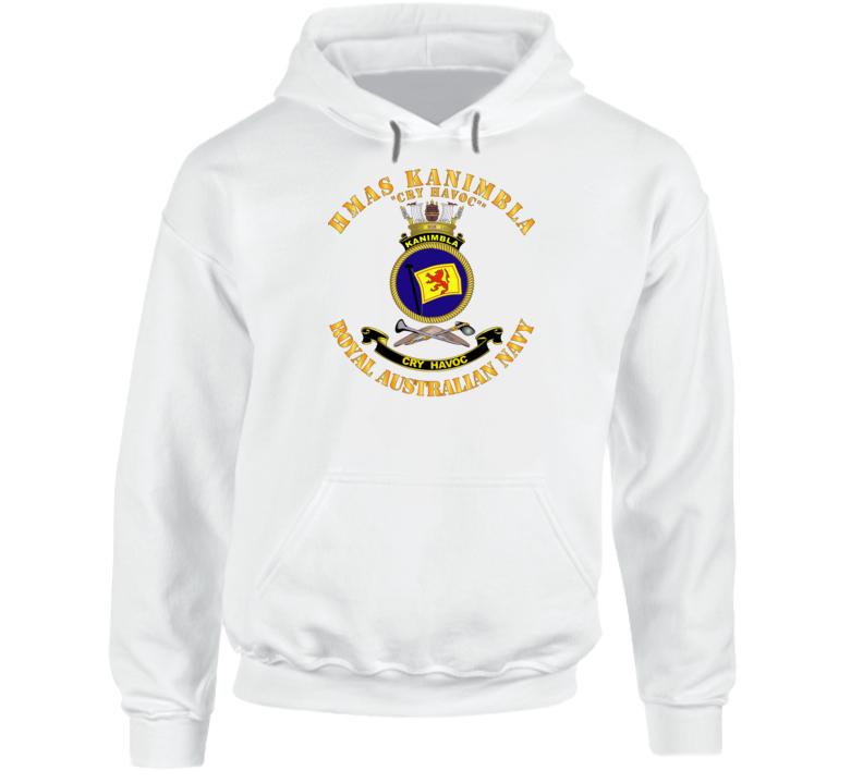 Australia - Navy - Hmas Kanimbla Hoodie
