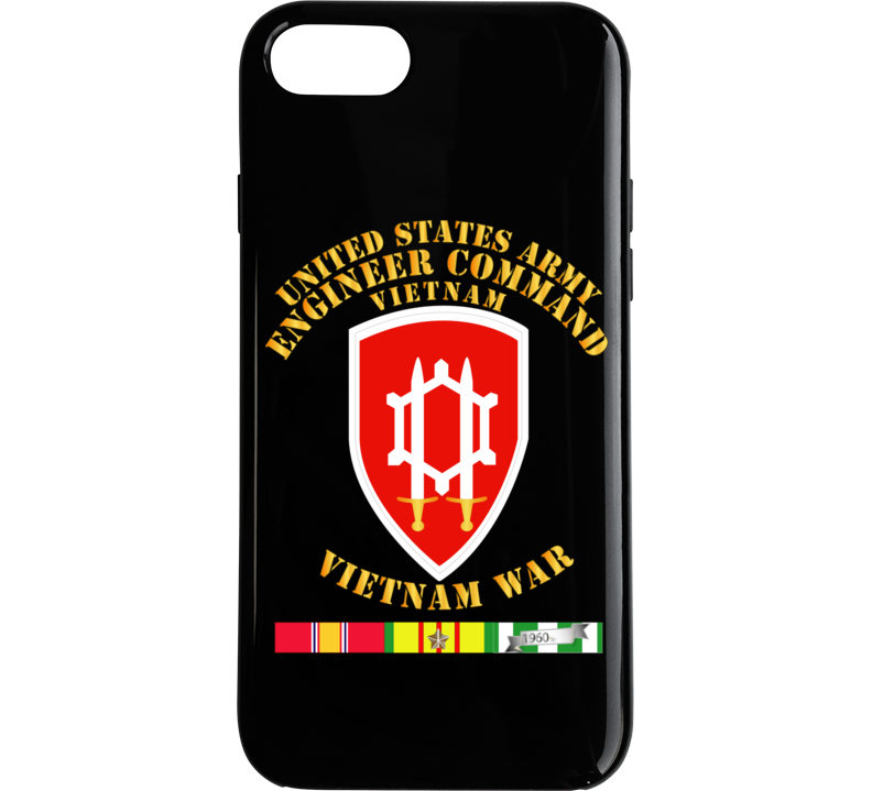 Army - Us Army Eng Cmd Vietnam - Vietnam War  W Svc Phone Case