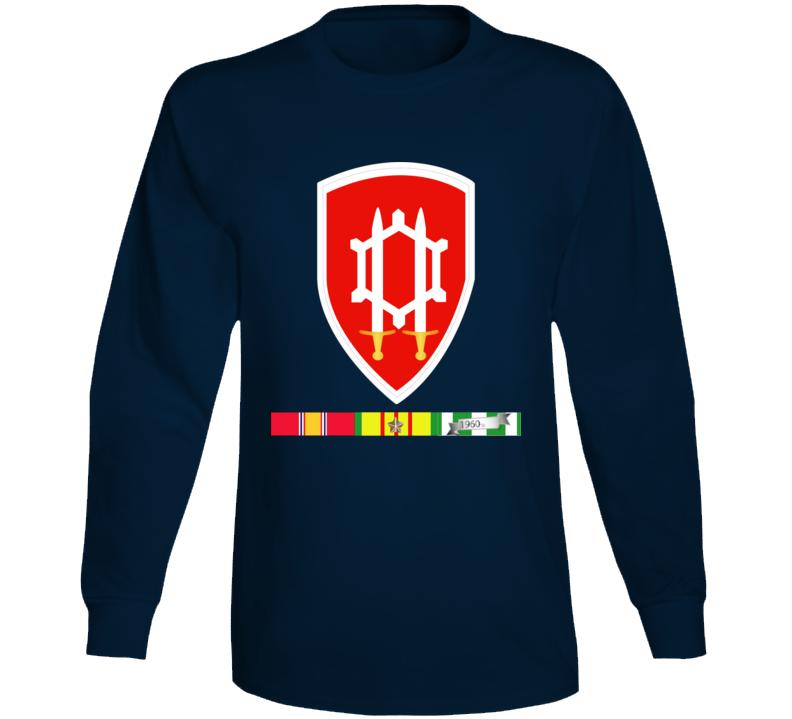 Army - Us Army Eng Cmd Vietnam - Vietnam War W Svc Wo Txt Long Sleeve