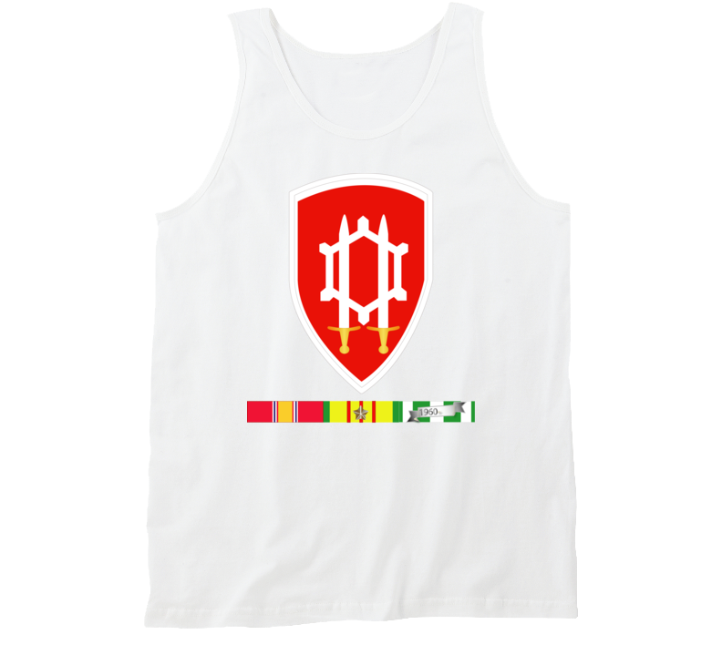 Army - Us Army Eng Cmd Vietnam - Vietnam War W Svc Wo Txt Tanktop