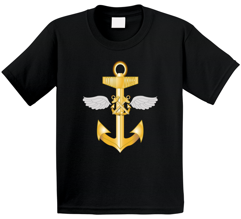 Navy - Rate - Aviation Boatswain's Mate Pin Wo Txt Kids T Shirt