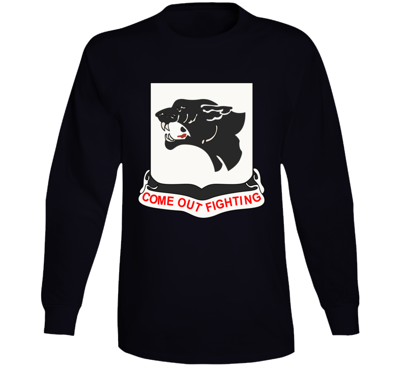 Army - 761st Tank Battalion - Black Panthers wo Txt Long Sleeve
