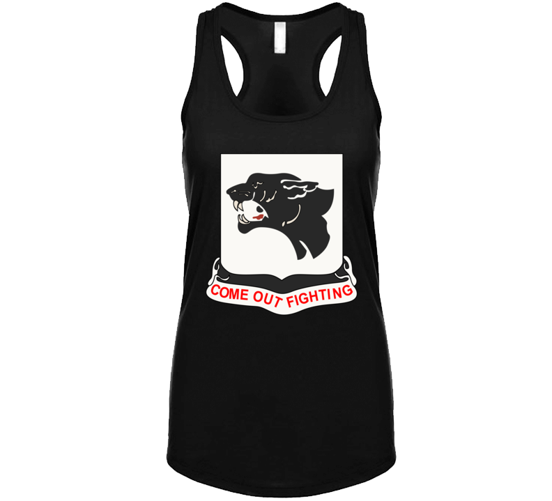 Army - 761st Tank Battalion - Black Panthers wo Txt Tanktop