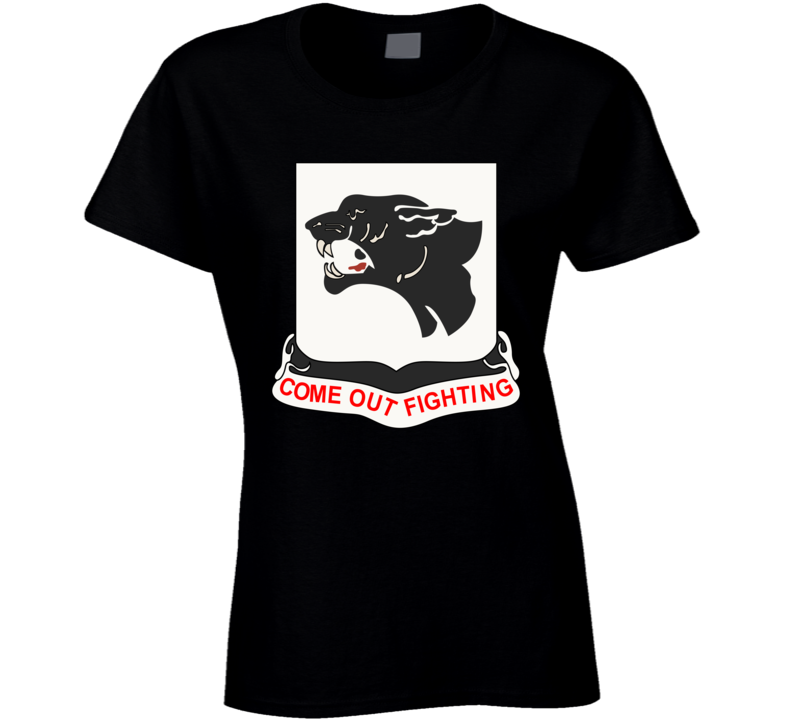Army - 761st Tank Battalion - Black Panthers wo Txt Ladies T Shirt