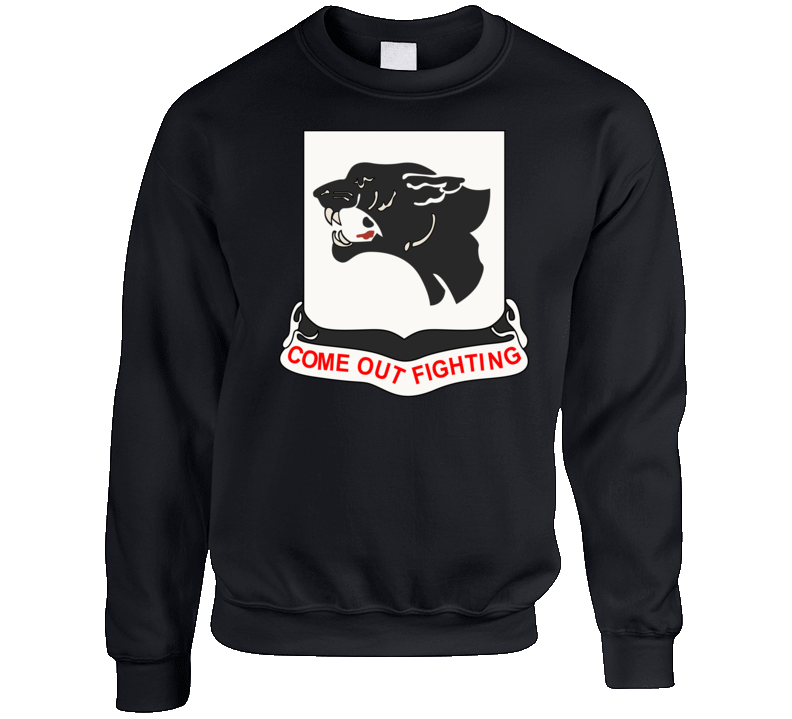 Army - 761st Tank Battalion - Black Panthers wo Txt Crewneck Sweatshirt
