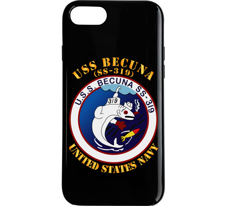 Navy - USS Becuna (SS-319) Phone Case