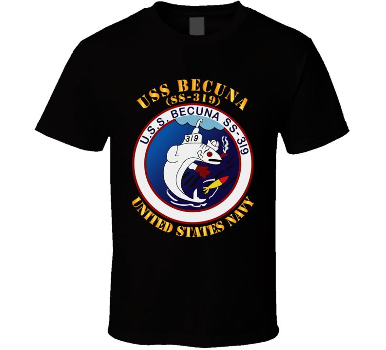 Navy - Uss Becuna (ss-319) T Shirt
