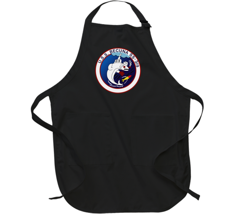 Navy - Uss Becuna (ss-319) Wo Txt Apron