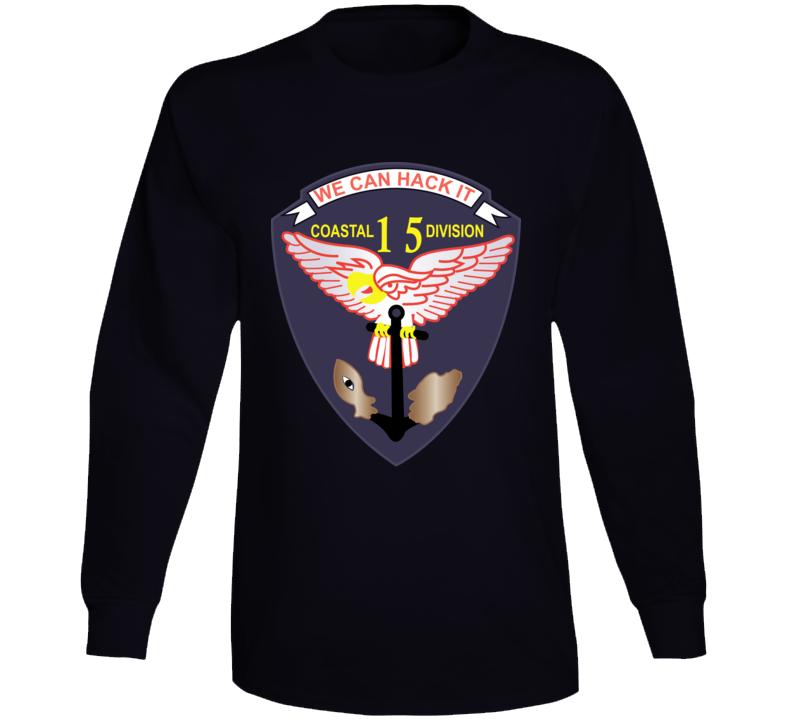 Navy - Vietnam Cbt Vet - Navy Coastal Div 15 - Swift Wo Txt Long Sleeve