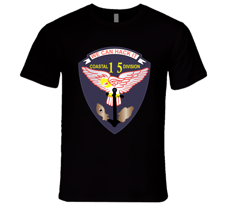 Navy - Vietnam Cbt Vet - Navy Coastal Div 15 - Swift wo Txt T Shirt