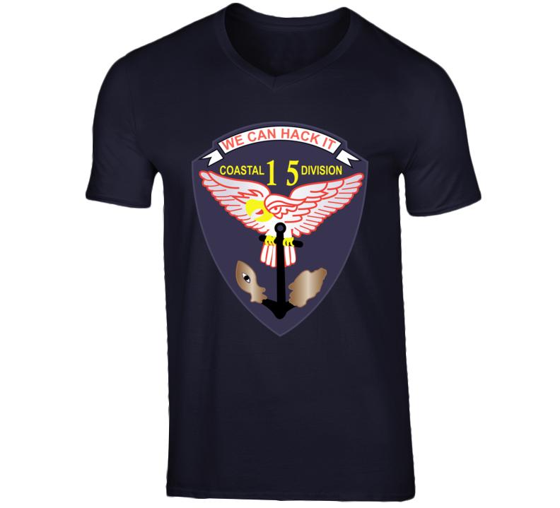 Navy - Vietnam Cbt Vet - Navy Coastal Div 15 - Swift Wo Txt T Shirt
