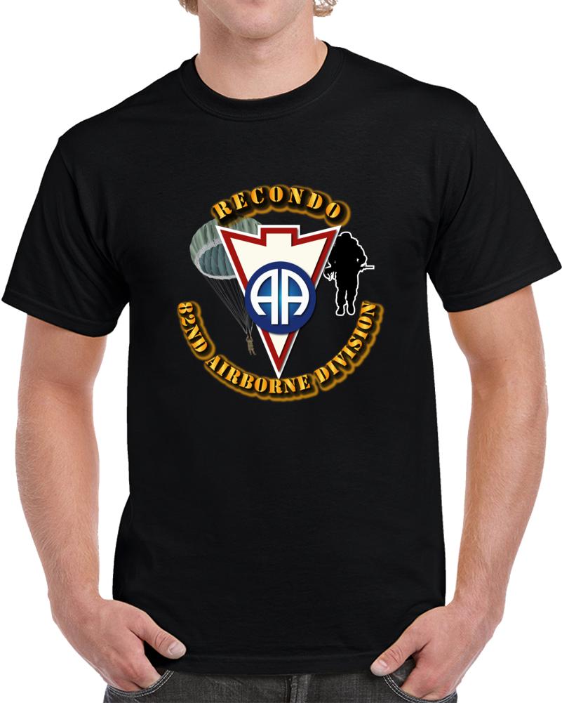Army - Recondo - Para - 82ad T Shirt