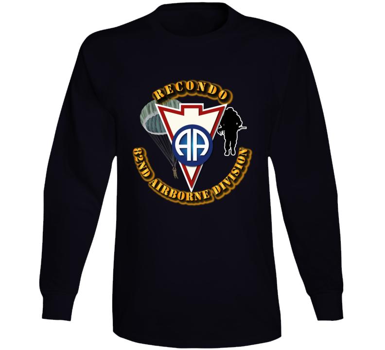 Army - Recondo - Para - 82ad Long Sleeve T Shirt