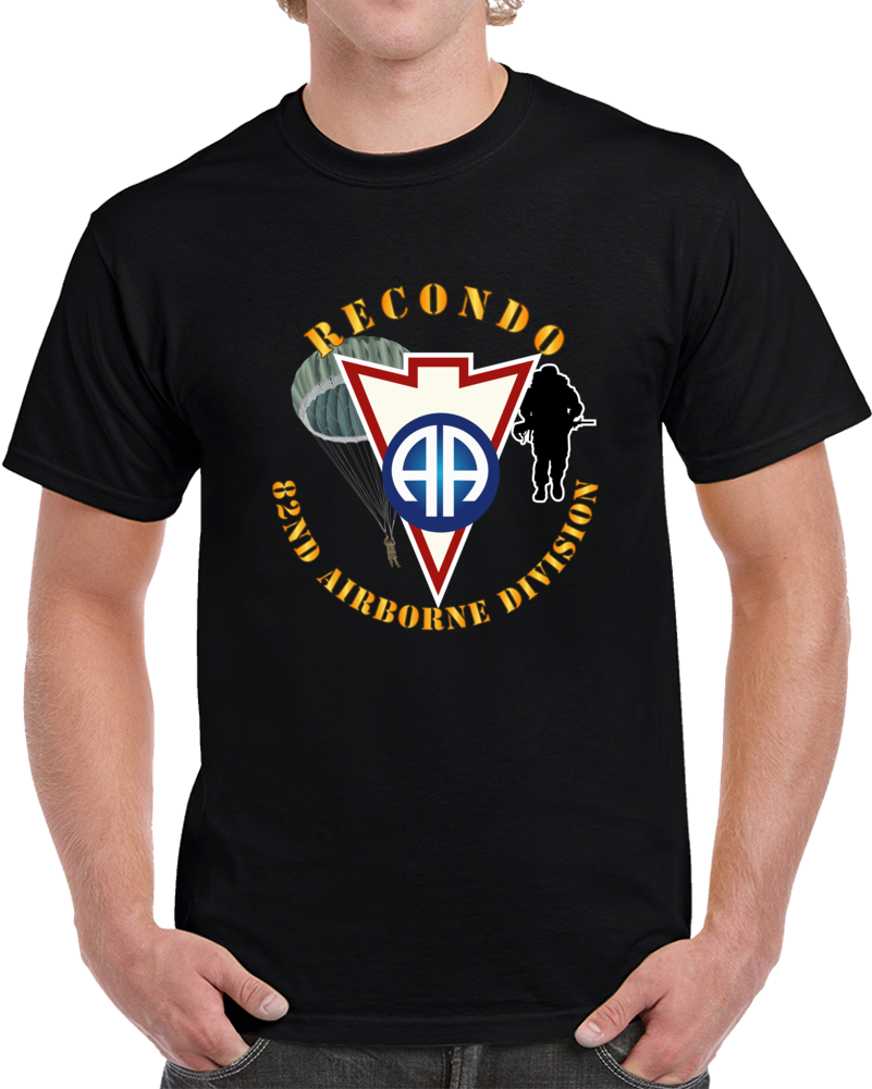 Army - Recondo - Para - 82ad Wo Ds T Shirt