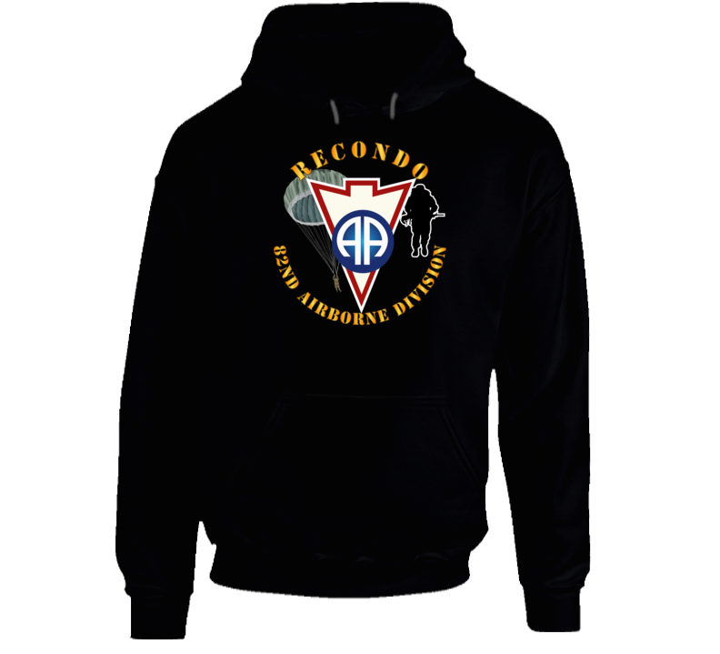 Army - Recondo - Para - 82ad Wo Ds Hoodie