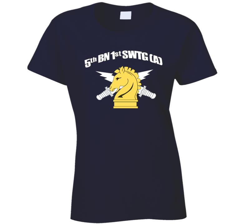 Sof - 1st Bn 5th Swtg Wo Cadre Ladies T Shirt