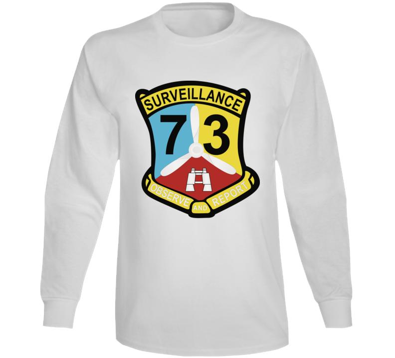 Army - Vietnam Combat Vet - 73rd Aviation Company - Wo Txt Long Sleeve T Shirt