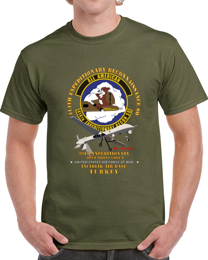 Usaf - 414th Expeditionary Reconnaissance Sq - Incirlik Air Base, Turkey T Shirt