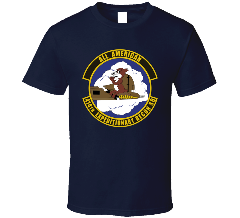 Usaf - 414th Expeditionary Reconnaissance Squadron Wo Txt T Shirt