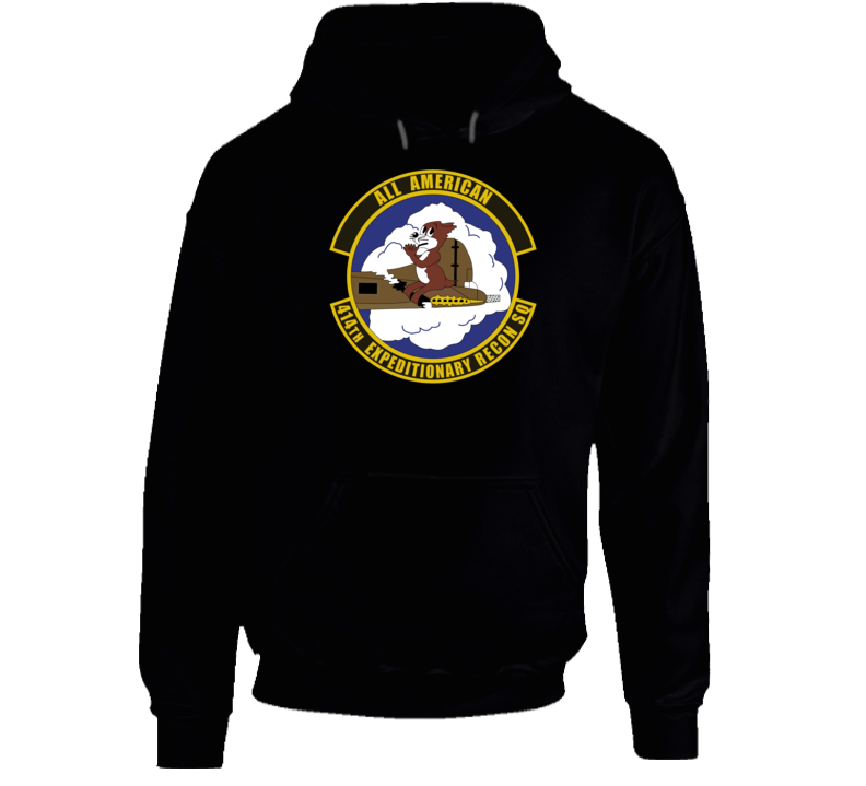 Usaf - 414th Expeditionary Reconnaissance Squadron Wo Txt Hoodie