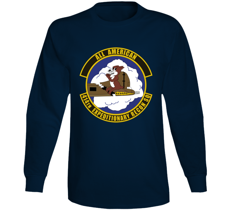 Usaf - 414th Expeditionary Reconnaissance Squadron Wo Txt Long Sleeve T Shirt