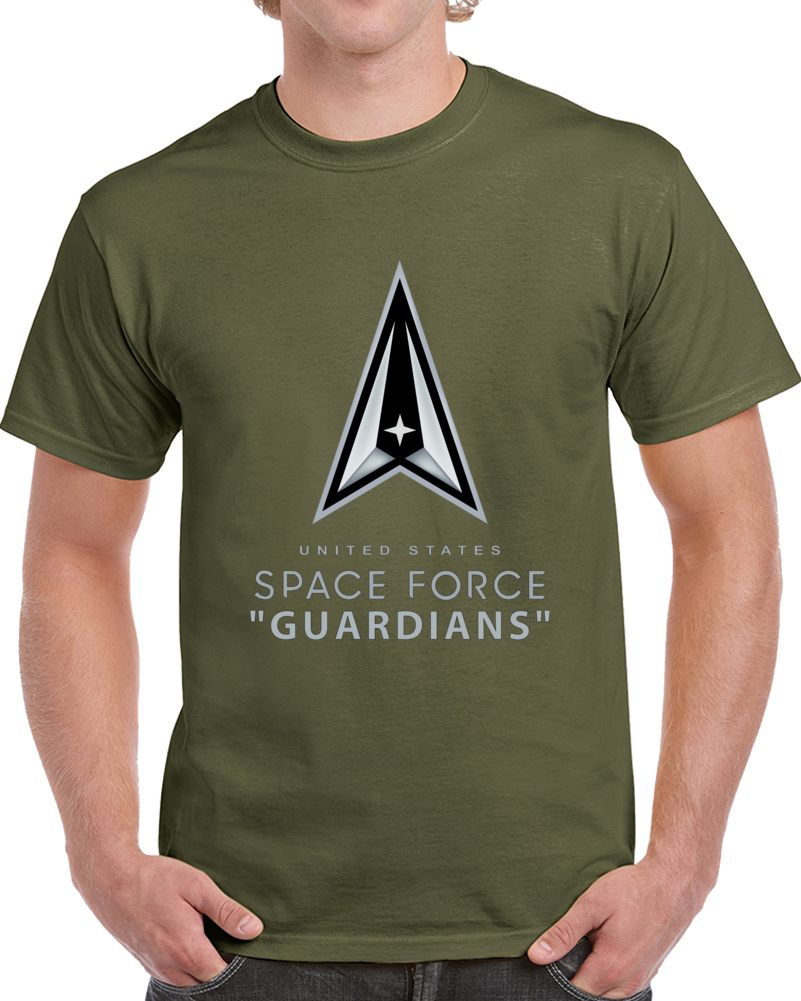 Ussf - United States Space Force - Guardians T Shirt