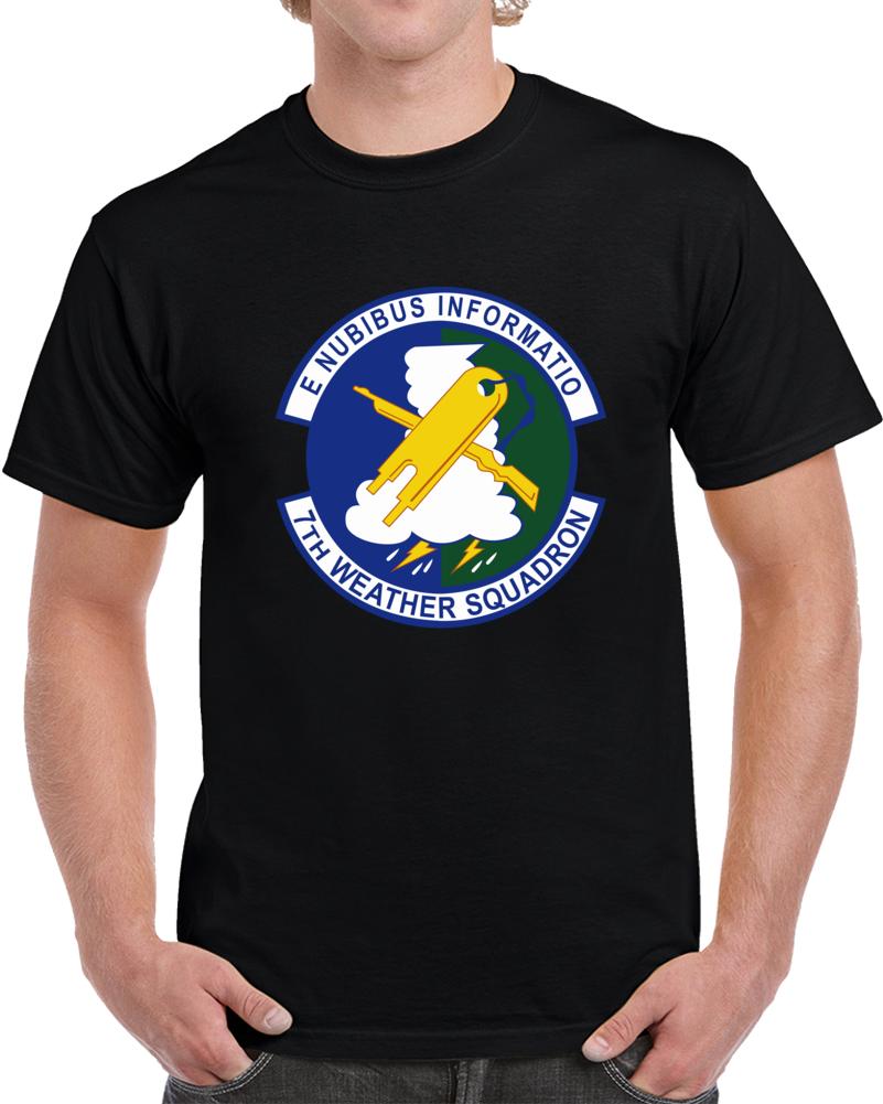 Usaf - 7th Combat Weather Squadron Wo Txt T Shirt