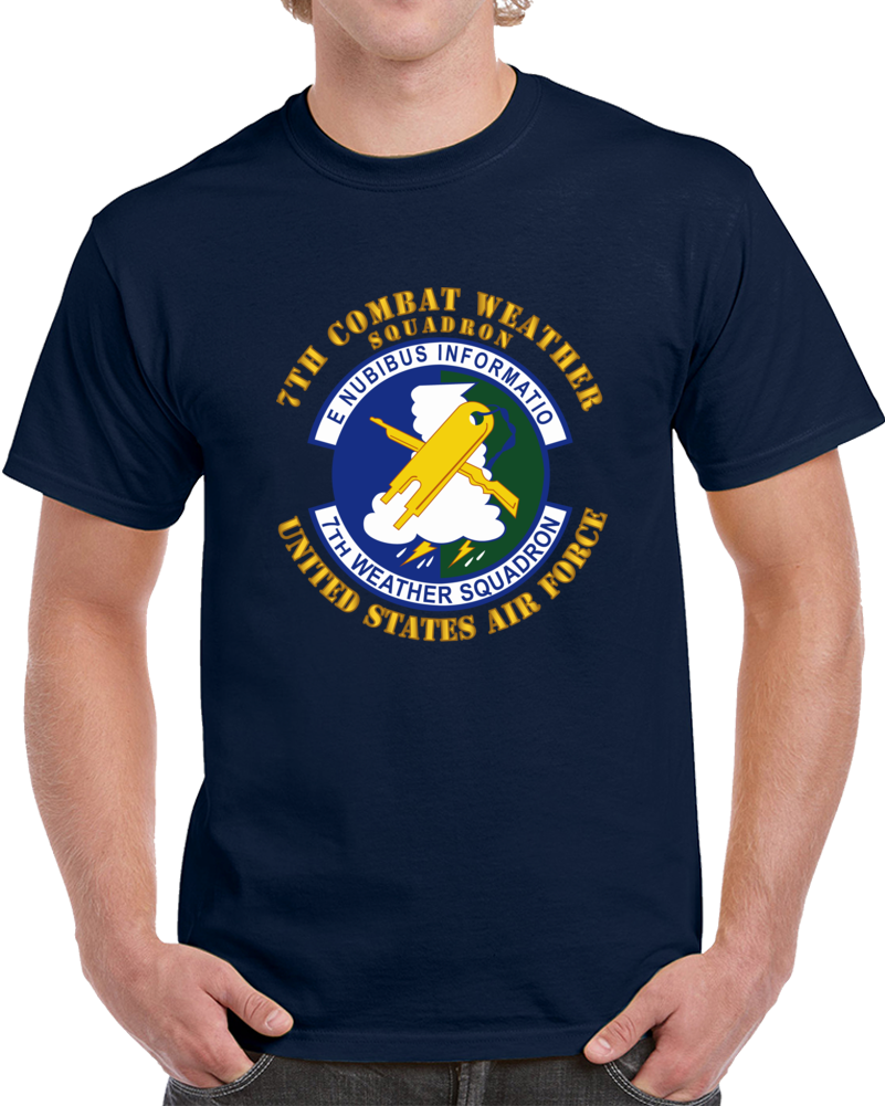 Usaf - 7th Combat Weather Squadron T Shirt