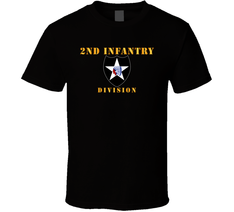Army - 1st Infantry Division - Big Red One T Shirt