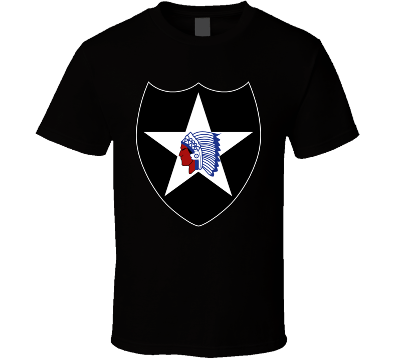 Army - 2nd Infantry Division Wo Txt T Shirt