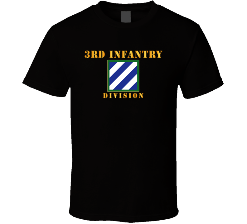 Army - 3rd Infantry Division T Shirt