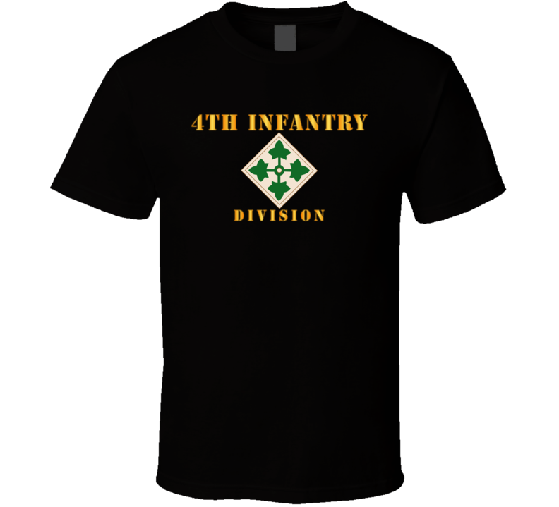 Army - 4th Infantry Division T Shirt