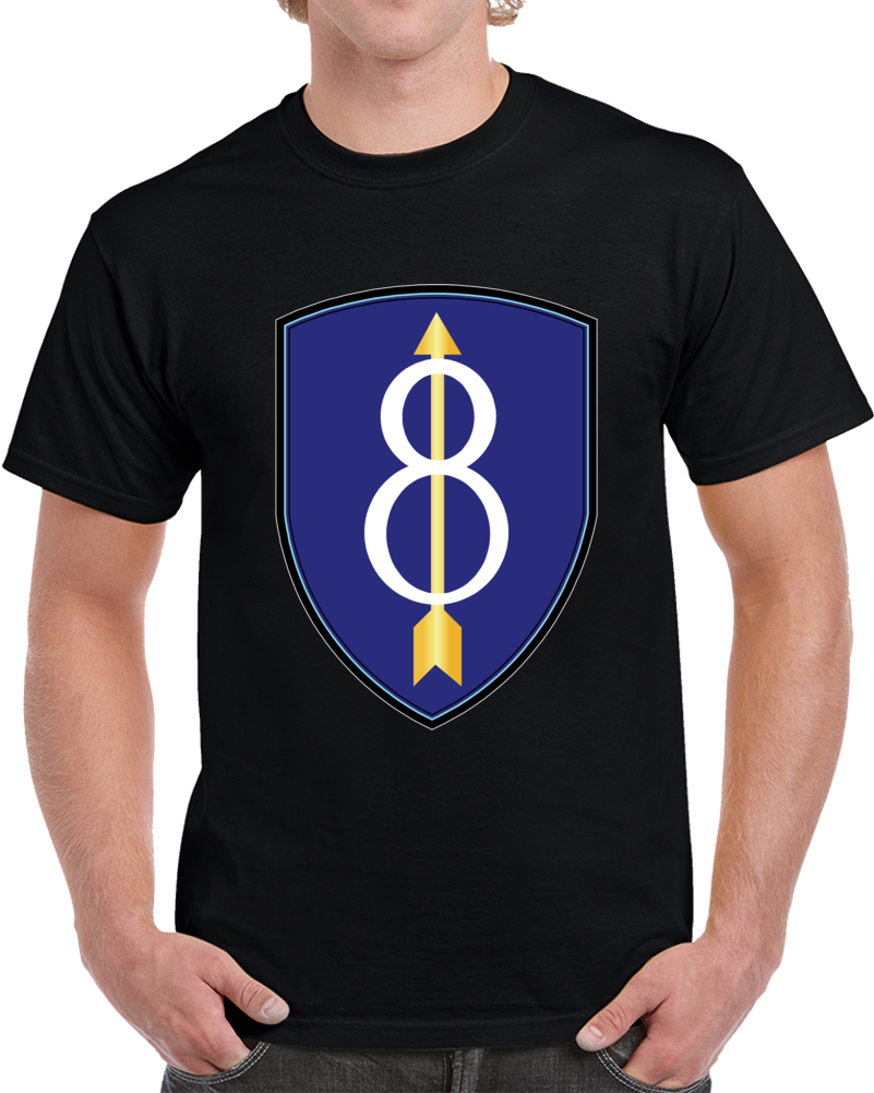 Army - 8th Infantry Division Wo Txt - T Shirt