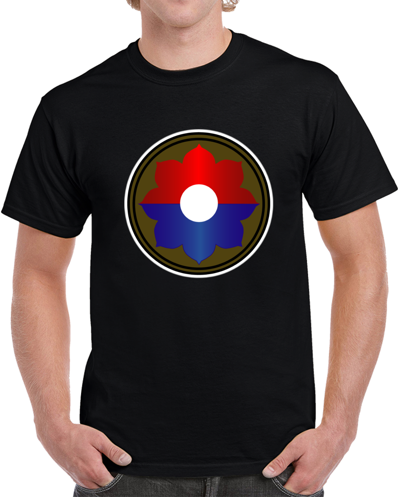 Army - 9th Infantry Division Wo Txt  - T Shirt