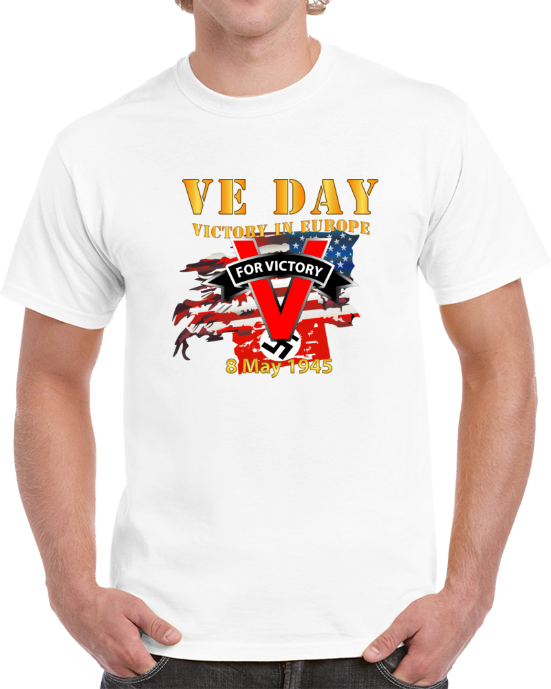 Army - Victory In Europe Day T Shirt