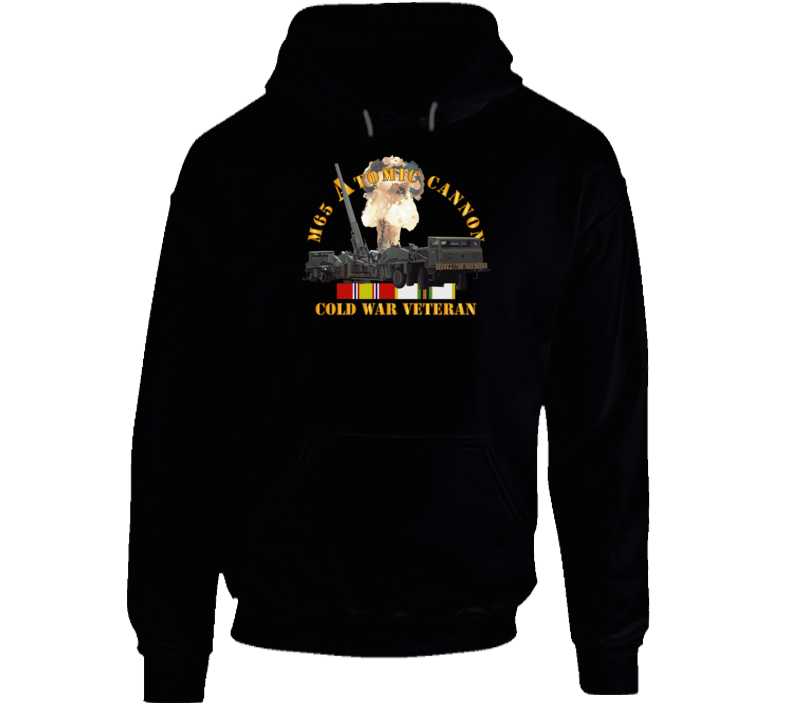 Army - M65 Atomic Cannon - Cold War Vet W Cold Svc Hoodie