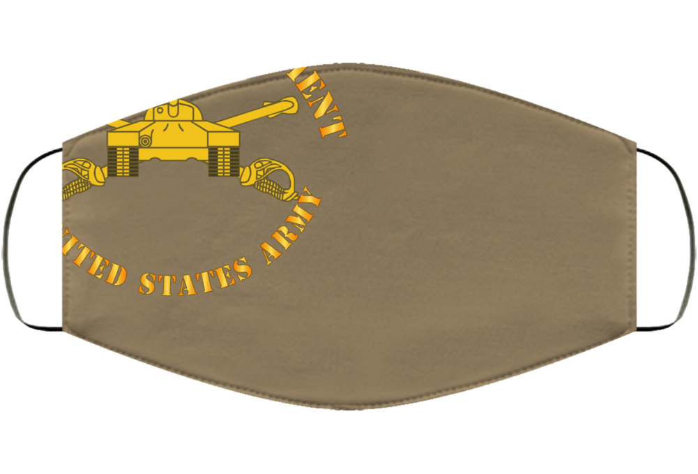Army - 34th Armor - Centurions  - Armor Branch Face Mask Cover